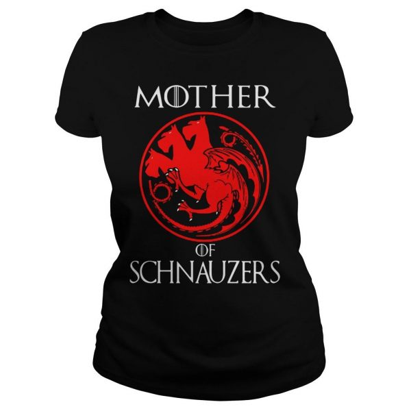 Game of Thrones Mother of Schnauzers shirt Classic Ladies Tee