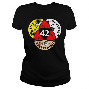[Hot item] 42 the answer to life the universe and everything shirt Classic Ladies Tee