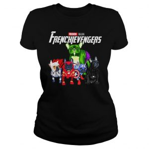 Marvel Avengers Endgame French bulldog Frenchie Avengers shirt Classic Ladies Tee