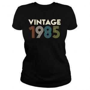 Vintage 1985 shirt Classic Ladies Tee