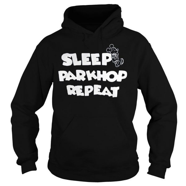 [Hot item] Mickey mouse sleep parkhop repeat shirt Hoodie