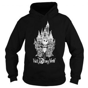 Jack Skellington at Cinderella Castle shirt Hoodie
