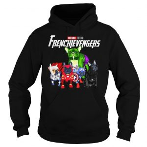 Marvel Avengers Endgame French bulldog Frenchie Avengers shirt Hoodie