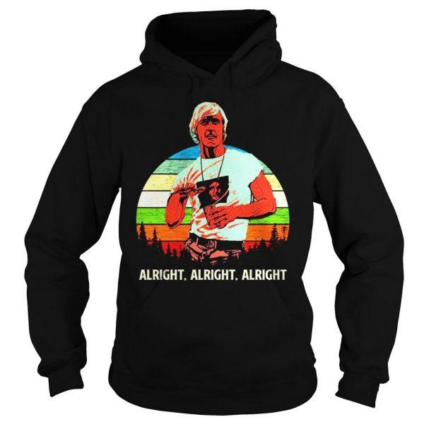 Matthew Mcconaughey vintage sunset shirt Hoodie
