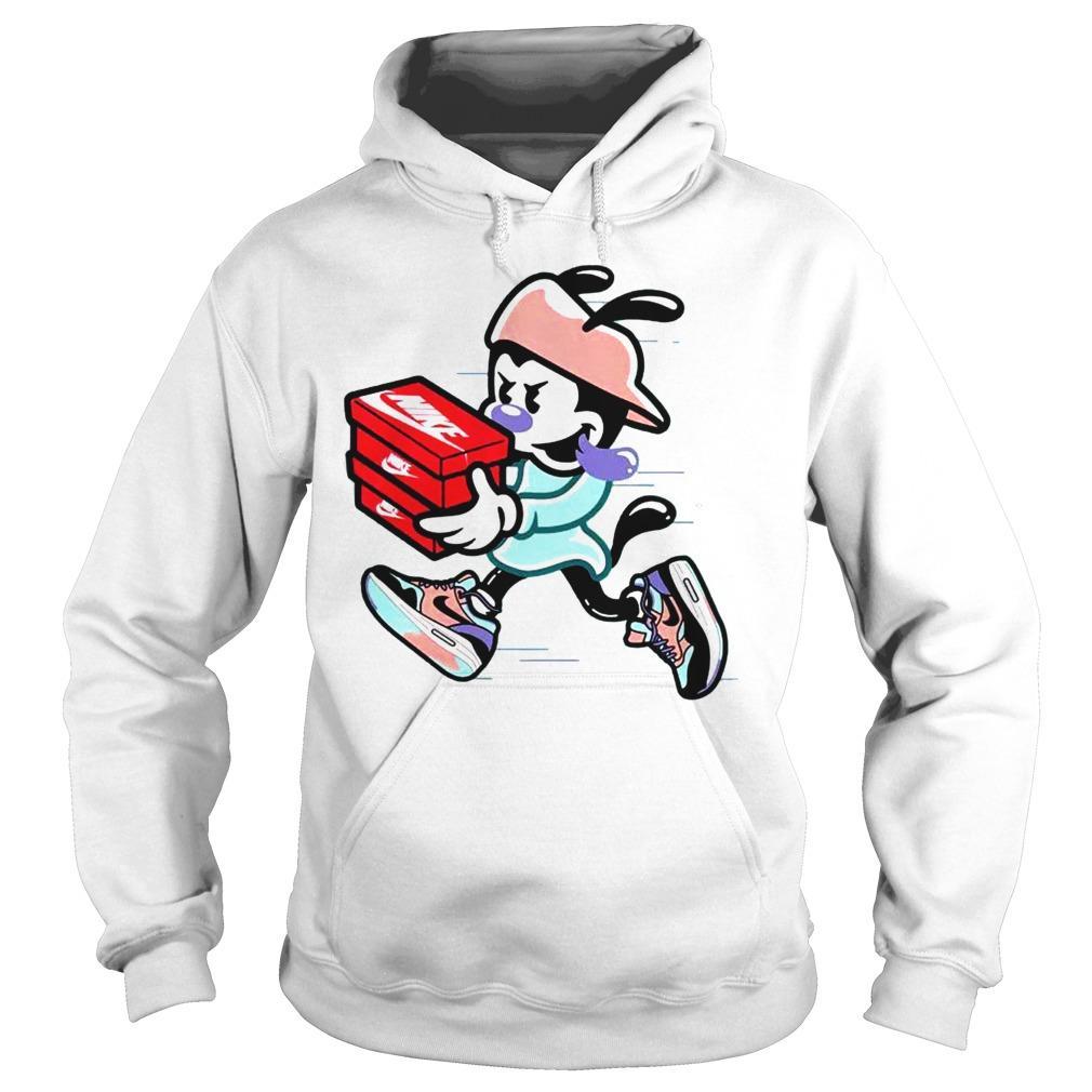 new york d4abc 36224 Nike Air Max 1 Mickey Mouse Shirt Ladies V-Neck · Nike ...