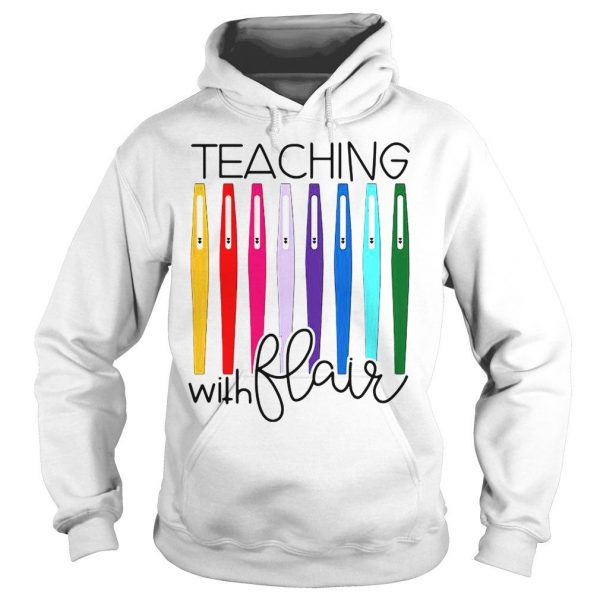 Pens teaching with flair shirt Hoodie