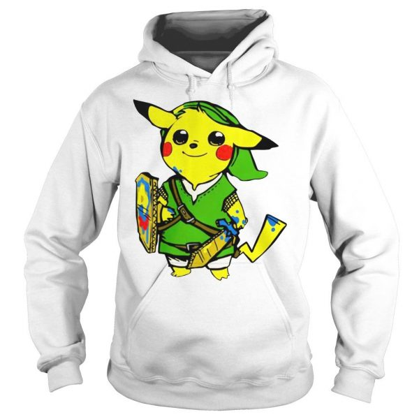 Pikachu link legend of zelda parody shirt hoodie tank top Hoodie