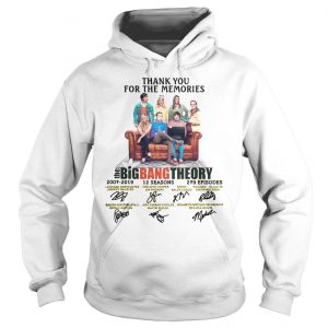 Thank You For The Memories The Big Bang Theory Shirt Hoodie