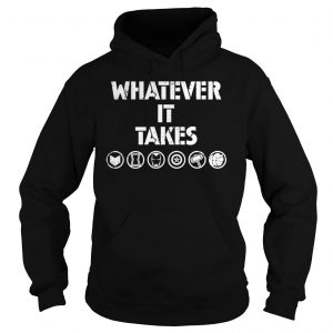 What ever it takes Marvel symbols shirt Hoodie