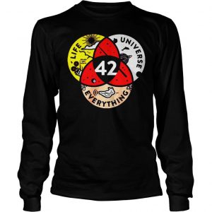 [Hot item] 42 the answer to life the universe and everything shirt Longsleeve Tee Unisex
