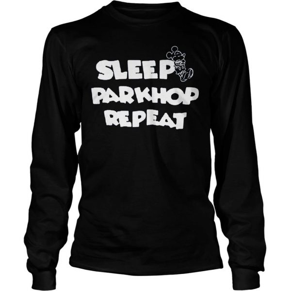 [Hot item] Mickey mouse sleep parkhop repeat shirt Longsleeve Tee Unisex