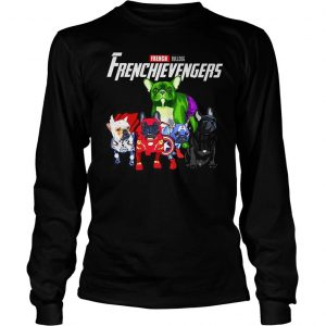 Marvel Avengers Endgame French bulldog Frenchie Avengers shirt Longsleeve Tee Unisex