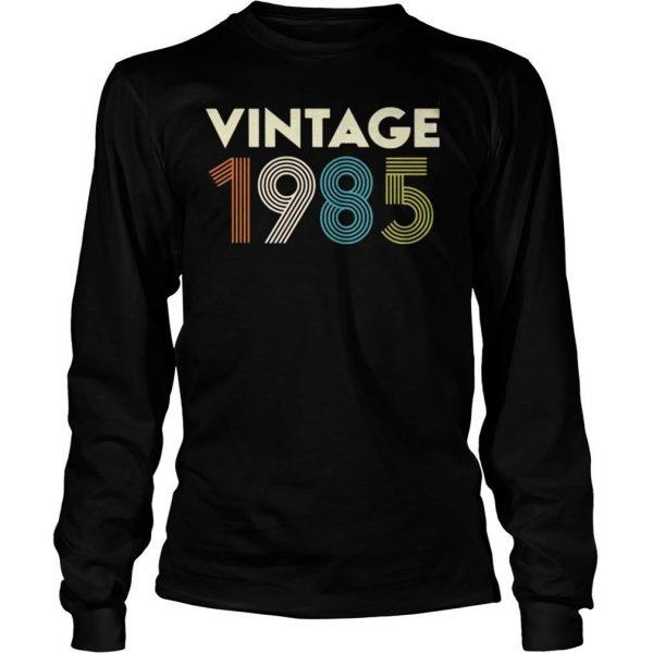 Vintage 1985 shirt Longsleeve Tee Unisex