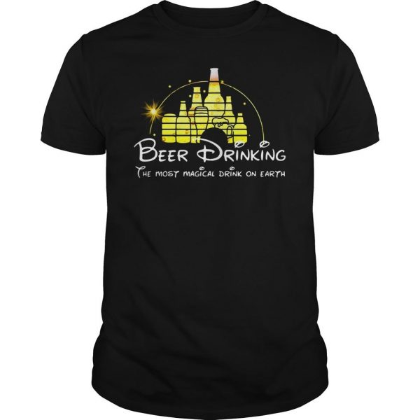 Disney Beer drinking the most magical drink on earth shirt