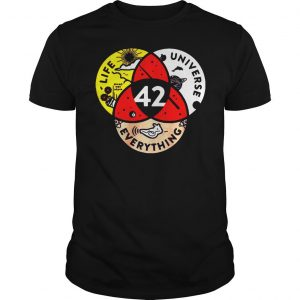 [Hot item] 42 the answer to life the universe and everything shirt
