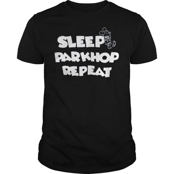 [Hot item] Mickey mouse sleep parkhop repeat shirt Shirt