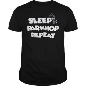 [Hot item] Mickey mouse sleep parkhop repeat shirt