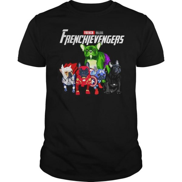 Marvel Avengers Endgame French bulldog Frenchie Avengers shirt Shirt