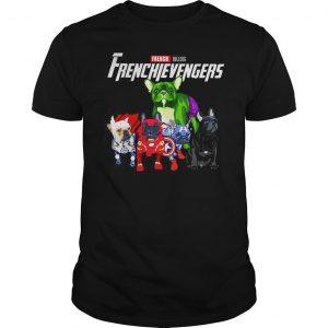 Marvel Avengers Endgame French bulldog Frenchie Avengers shirt