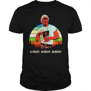 Matthew Mcconaughey vintage sunset shirt Shirt
