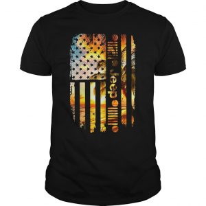 Official America flag beach jeep shirt Shirt