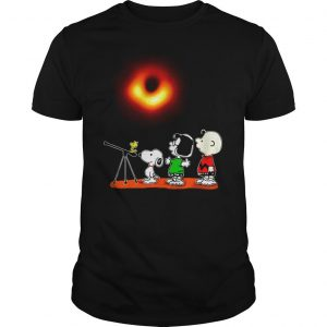 Peanuts watching Black Hole 2019 shirt Shirt