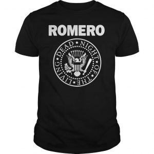 Romero Ramones Night Of The Living Dead shirt Shirt
