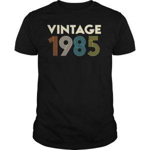 Vintage 1985 shirt Shirt