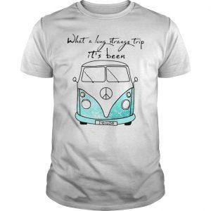 What a long strange trip its been peace bus shirt hoodie tank top