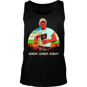 Matthew Mcconaughey vintage sunset shirt TankTop