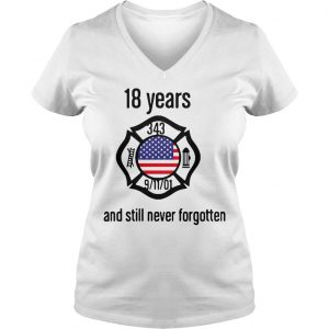 American 18 Years And Still Never Forgotten Shirt Ladies V-Neck