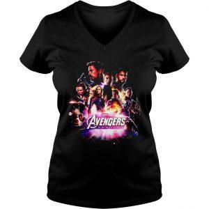 Marvel Studios Avengers endgame shirt Ladies V-Neck