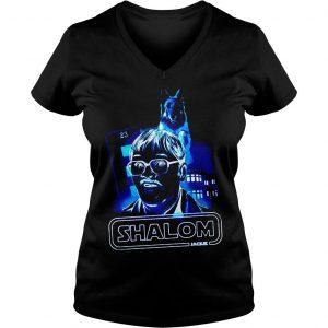 Shalom return of the Jim shirt Ladies V-Neck