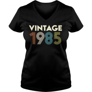 Vintage 1985 shirt Ladies V-Neck