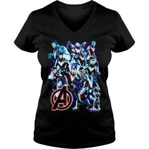 marvel avengers endgame shirt Ladies V-Neck