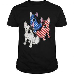 French Bulldog Flag Tshirt Shirt