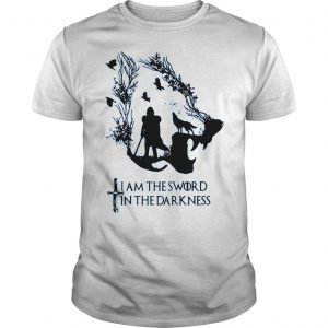 Game of thrones jon snow I am the sword in the darkness shirt