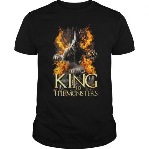 Game of thrones king of the monsters shirt