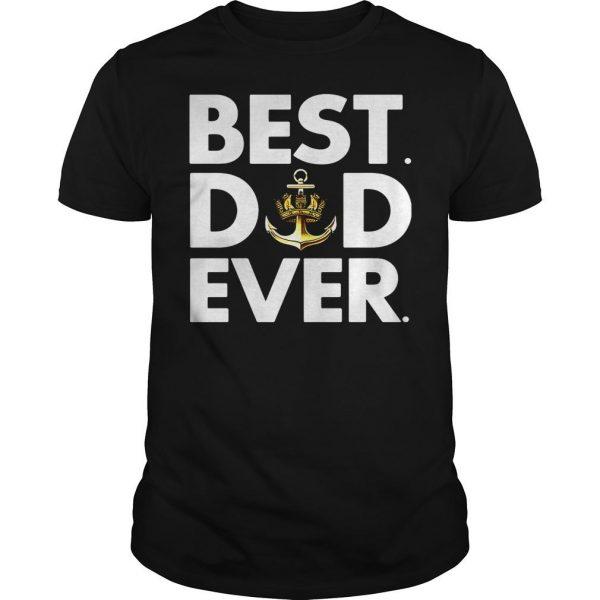 Royal Navy best dad ever shirt Shirt