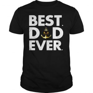 Royal navy best dad ever shirt