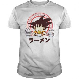 Saiyan ramen sublimation dryfit shirt Shirt
