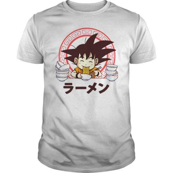 Saiyan ramen sublimation dryfit shirt Shirt