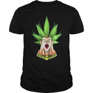 Songoku Weed High Power Shirt Shirt