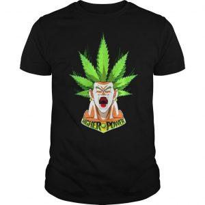 Songoku weed hight power shirt Shirt