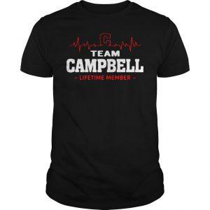 Team Campbell Lifetime Member Shirt Shirt