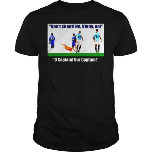 Vincent Kompany dont shoot no vinny shirt Shirt