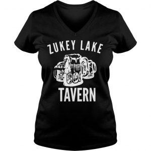 Ryan Reynolds Zukey Lake Tavern Shirt Ladies V-Neck
