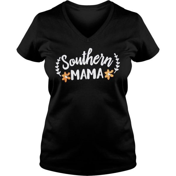 Southern mama shirt Ladies V-Neck