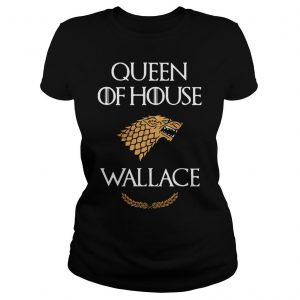 Queen house wallace game thrones v neck tshirt Classic Ladies Tee