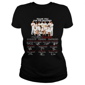 Thank you for the memories Family shirt Classic Ladies Tee